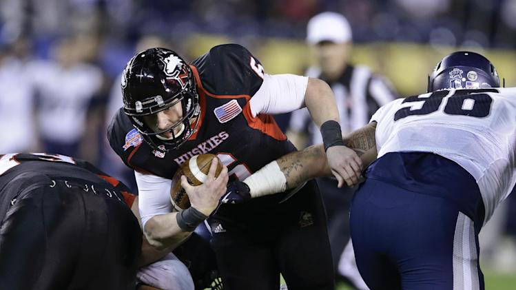 Aggies beat Lynch, No. 24 NIU 21-14 in Poinsettia