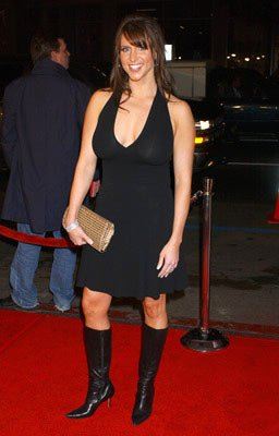 Stephanie McMahon at the Hollywood premiere of New Line Cinema's Blade: Trinity