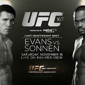 UFC 167: Evans vs Sonnen Preview