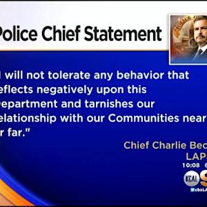 LAPD Officer Accused Of Lewd Acts, Exposing Himself