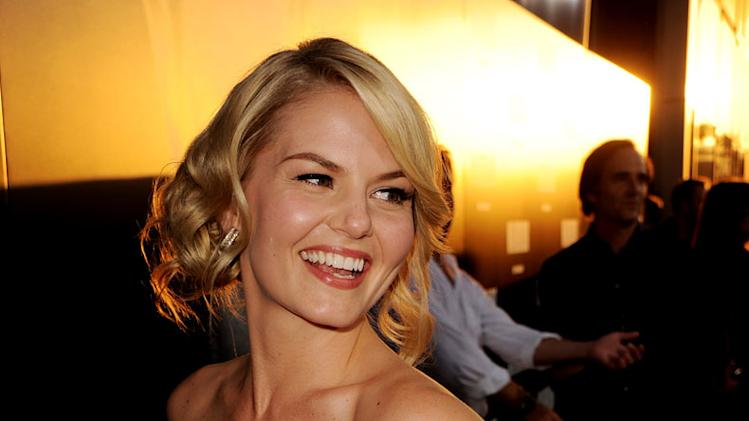 "Jennifer Morrison arrives at the premiere of Lionsgate Films' ""Warrior"" at the Cinerama Dome Theatre on September 6, 2011 in Los Angeles, California."