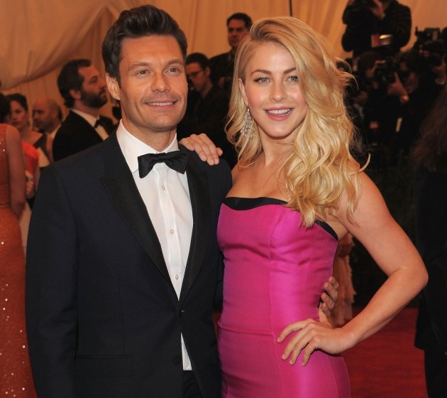 Ryan Seacrest and Julianne …