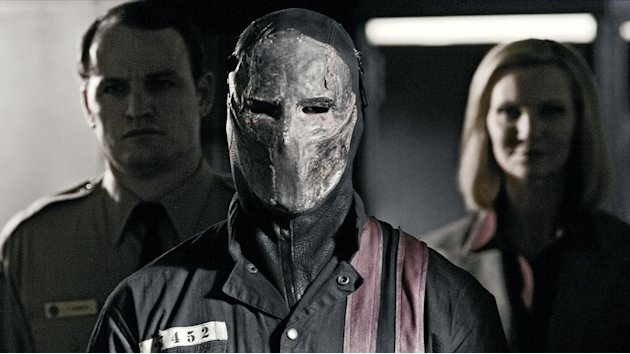 Jason Clarke Jason Statham Joan Allen Death Race Production Stills Universal 2008