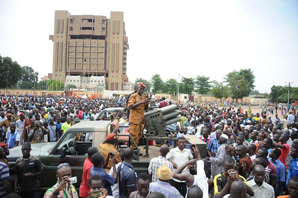 Burkina marks ending of elite force that attempted coup