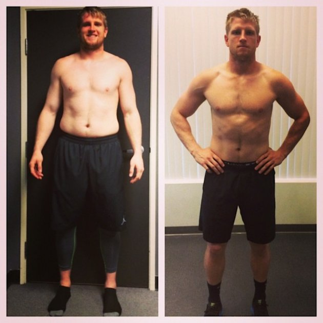 Shea McClellin's Physical Transformation