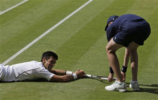 No. 1 Djokovic to face No. 2 Murray at Wimbledon