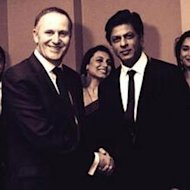 Shah Rukh Khan Receives A Warm Welcome By New Zealand PM John Key