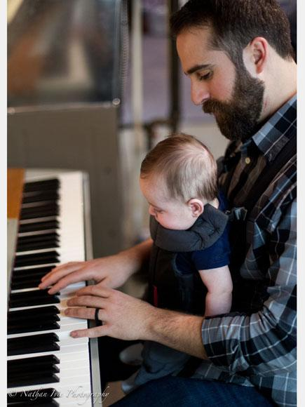 Watch This Piano-Playing Dad Soothe His Baby Son to Sleep in Just Seconds