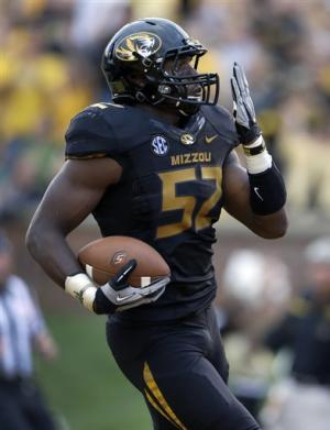 Missouri opens with 62-10 rout of SE Louisiana