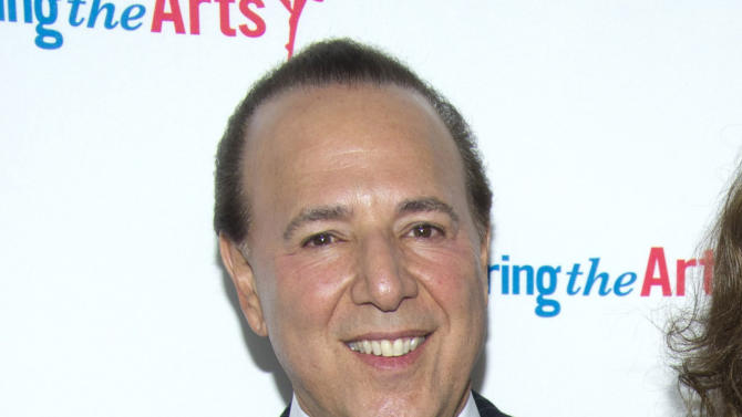 "FILE - This Sept. 18, 2011 file photo shows music mogul Tommy Mottola at Tony Bennett's 85th birthday gala in New York. A decade after leaving Sony Music Entertainment, Tommy Mottola tells his story in a new book, ""Hitmaker: The Man and His Music."" (AP Photo/Charles Sykes, file)"