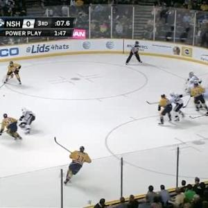 Marc-Andre Fleury Save on Shea Weber (19:56/3rd)