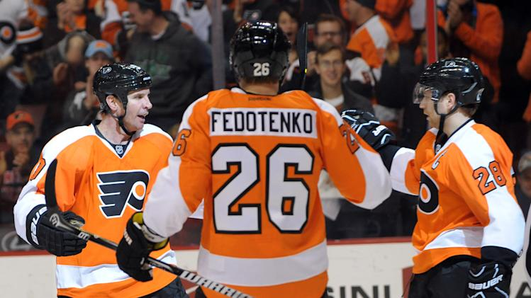 NHL: New York Islanders at Philadelphia Flyers