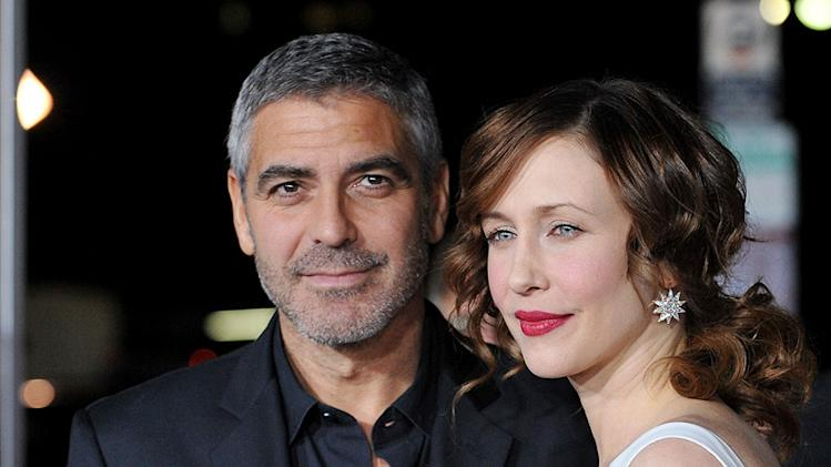 Up in the Air LA Premiere 2009 George Clooney Vera Farmiga