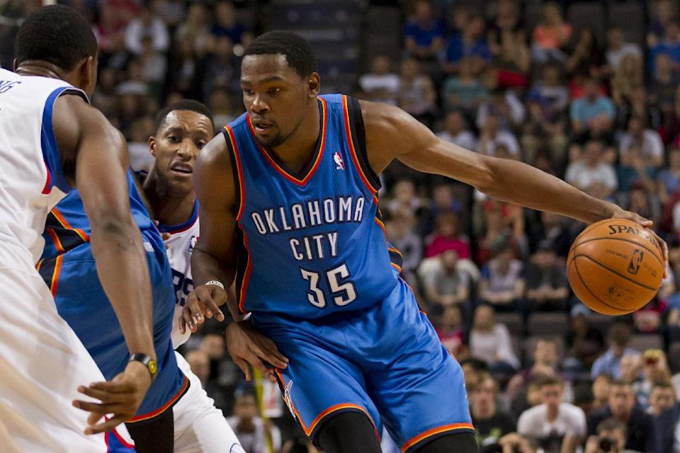 Thunder beat 76ers 103-99 in preseason game