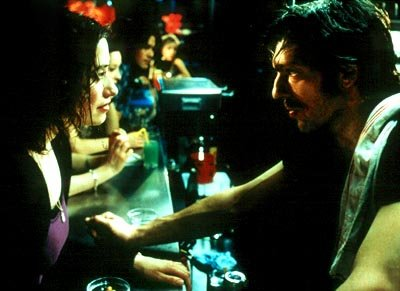 Emmanuelle Devos and Vincent Cassel in Magnolia's Read My Lips