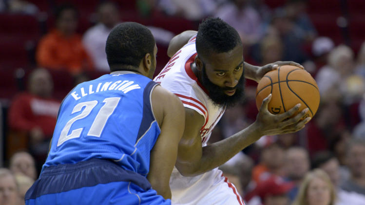 NBA: Preseason-Dallas Mavericks at Houston Rockets
