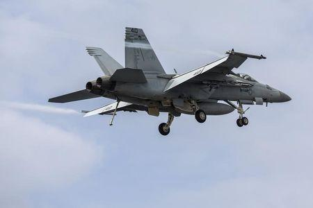 Boeing sees F/A-18 fighter line continuing through 2017