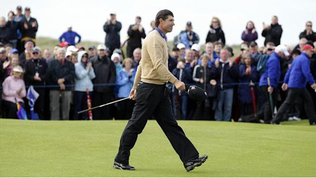 Harrington in the hunt at the Irish Open