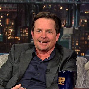 David Letterman - Michael J. Fox in the NYC Marathon