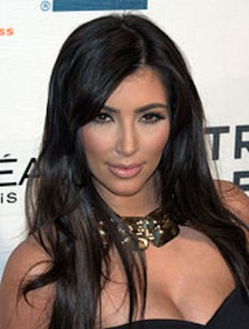 A photo of &quot;Keeping Up With the Kardashians&quot; star Kim Kardashian at Tribeca Film Festival.