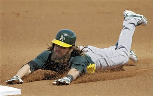 Cespedes hits HR in Athletics' win over Indians