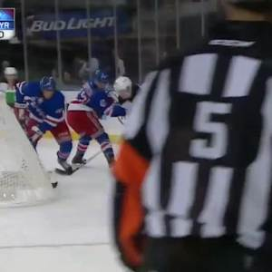 New Jersey Devils at NY Rangers Rangers - 09/22/2014