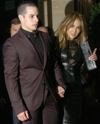 Casper Smart, 26 & Jennifer Lopez, 44