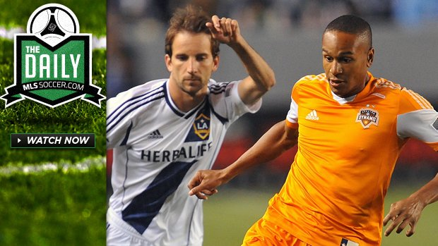 The Daily 5/6 - Houston defeat LA, Kamara returns, Hackworth takes aim at MLS officials