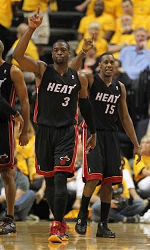 Wade scores 41, Heat eliminate Pacers 105-93