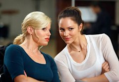 Megan Hilt, Katharine McPhee | Photo Credits: Will Hart/NBC