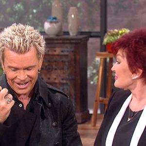 The Talk - The Ladies Catch Up with Billy Idol