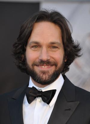 Actor Paul Rudd arrives at the Oscars at the Dolby Theatre on Sunday Feb. 24, 2013, in Los Angeles. (Photo by John Shearer/Invision/AP)