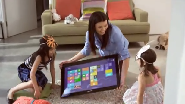Lenovo's New Coffee Table Computer Is One Big Gigantic iPad