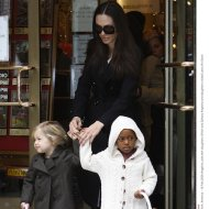 Angelina Jolie and Zahara Jolie-Pitt