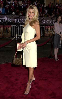 Heidi Mark at the Westwood premiere of Warner Brothers' Rock Star