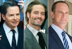 Michael J. Fox, Josh Holloway, Christopher Meloni | Photo Credits: Eric Liebowitz/NBC, Stephen Lovekin/Getty Images, Eddy Chen/FOX