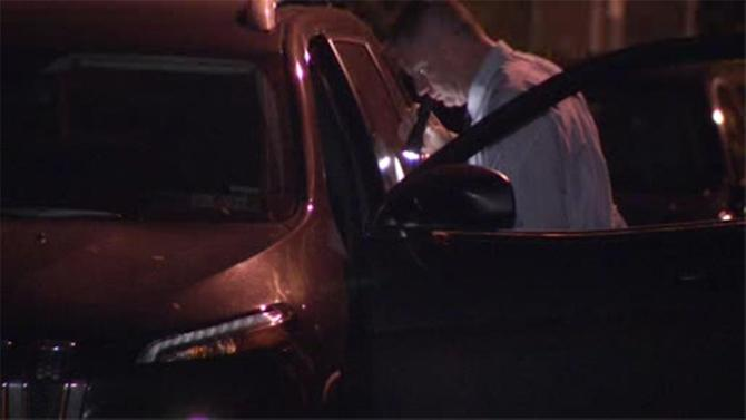 Man shot in the head inside SUV in Grays Ferry