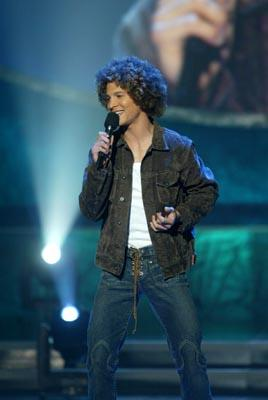 "Justin Guarini Final Three Fox's ""American Idol"" - 8/27/2002"