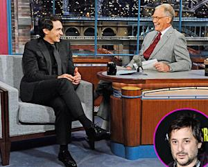 "David Letterman Tells James Franco Why He Kicked Director Harmony Korine Off His Show, Claims Korine Was ""Going Through"" Meryl Streep's Purse"