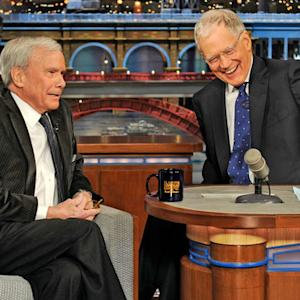 David Letterman - Tom Brokaw Talks Weed
