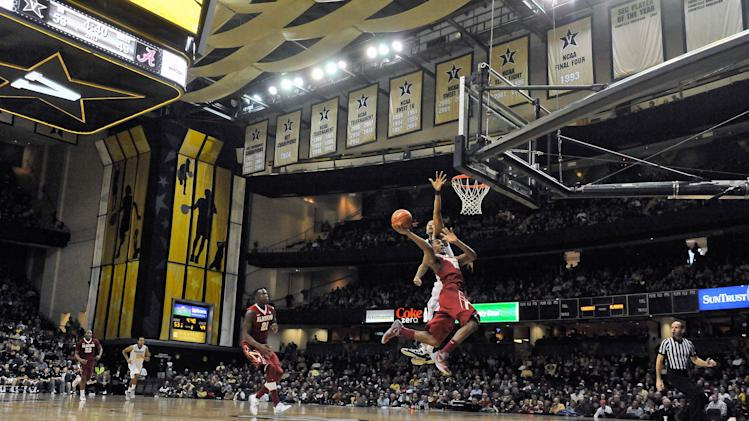 NCAA Basketball: Alabama at Vanderbilt