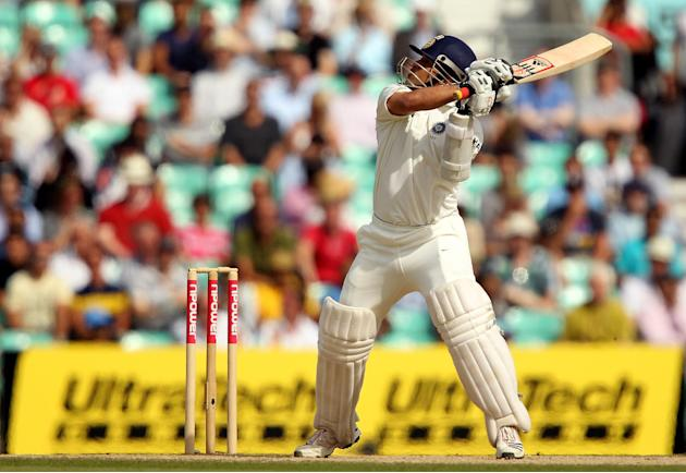 Mahendra Singh Dhoni believes Sachin Tendulkar, pictured, is capable of extending his career