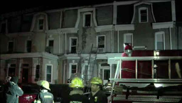 Woman critical after jumping from window to escape fire in Philly