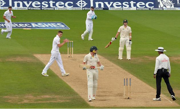 Cricket - Fifth Investec Ashes Test - Day Two - England v Australia - The Kia Oval