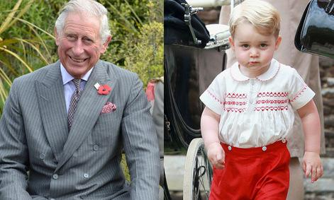 Prince George is taking after grandfather Prince Charles with his love of the outdoors