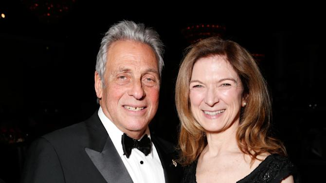 Academy of Motion Picture Arts and Sciences President Hawk Koch, left, Academy of Motion Picture Arts and Sciences CEO Dawn Hudson attend the 24th Annual Producers Guild (PGA) Awards at the Beverly Hilton Hotel on Saturday Jan. 26, 2013, in Beverly Hills, Calif. (Photo by Todd Williamson/Invision for Producers Guild/AP Images)