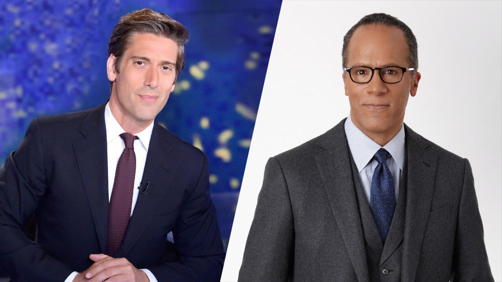 David Muir, Lester Holt In See-Saw Battle For Evening-News Viewers