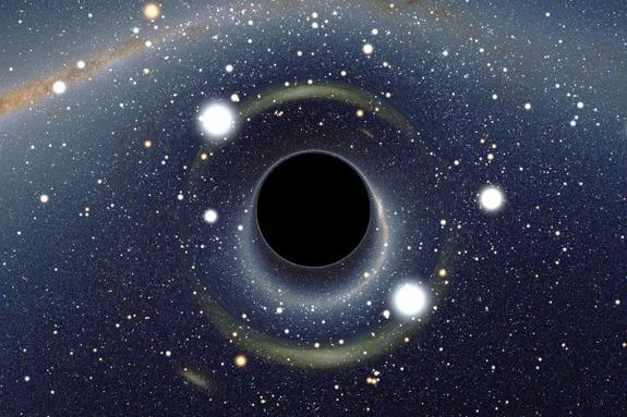 Dying Star Screams As It Falls Into Black Hole
