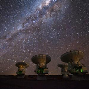 ALMA: Peering into the universe's past