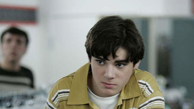 RJ Mitte as Walter White, Jr. in Breaking Bad.